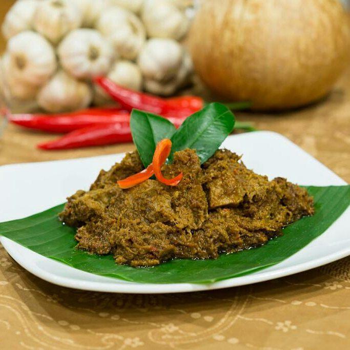 Rendang in  Batavia Restaurant in Hanoi - Hanoi halal food - Yallavietnam