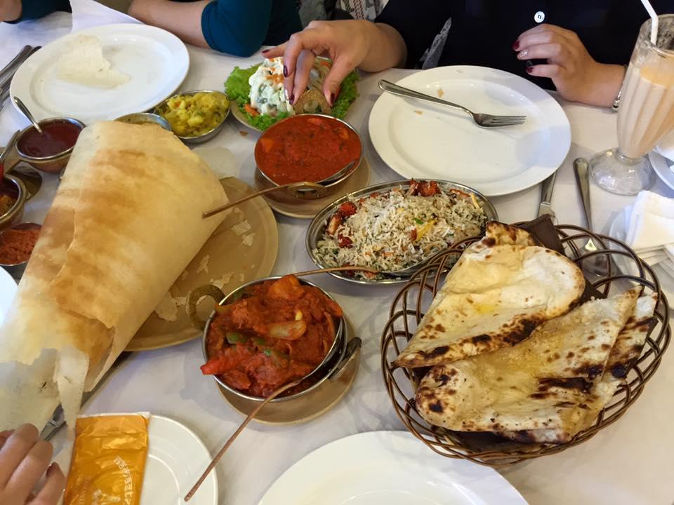 Everyday lunch scene at Namaste Hanoi - Hanoi halal food - Yallavietnam