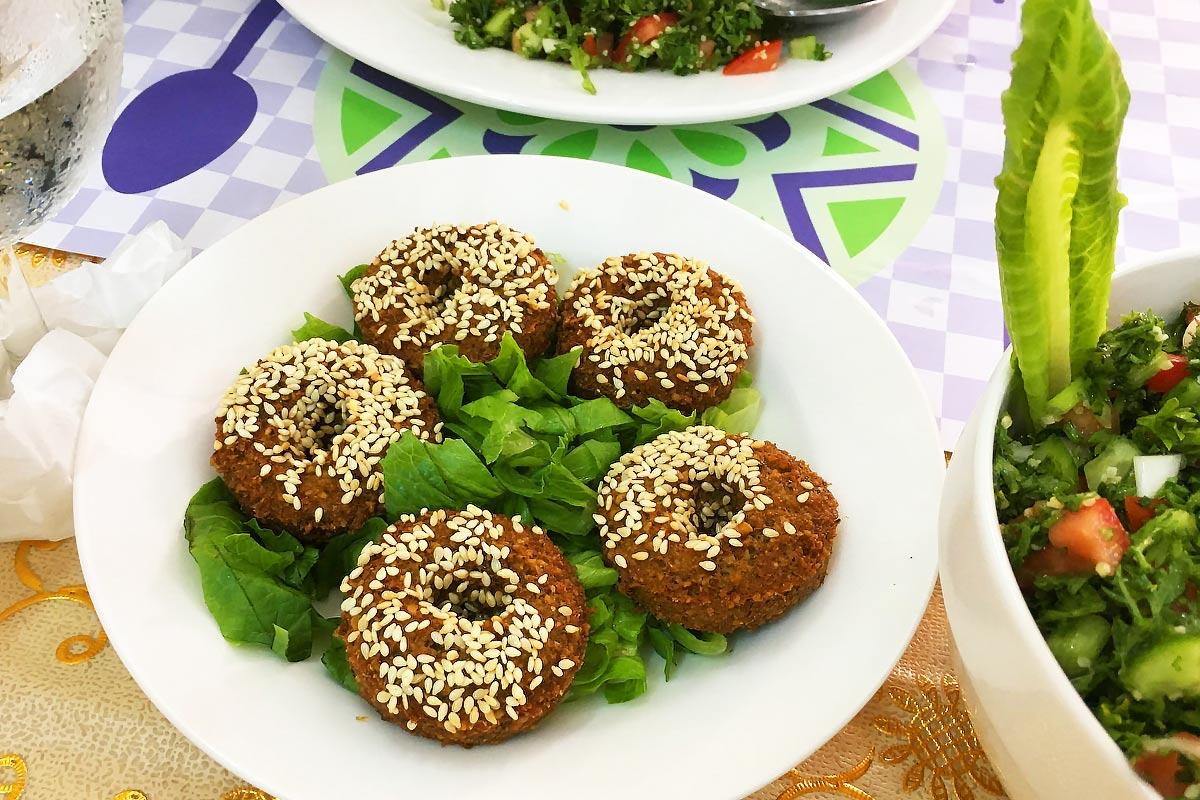 Falafel served at Al-Sham  - Halal restaurant in Ho Chi Minh City - Yallavietnam