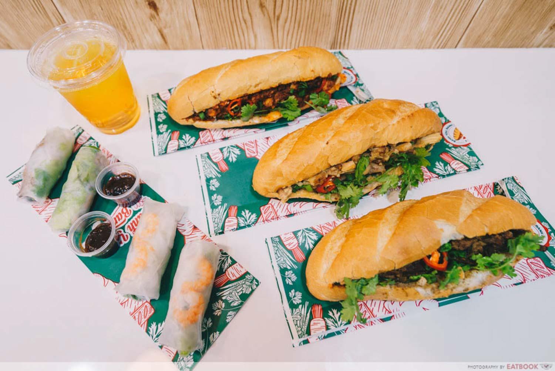 Banh Mi - Halal Vietnamese Sandwiches - Vietnam halal food