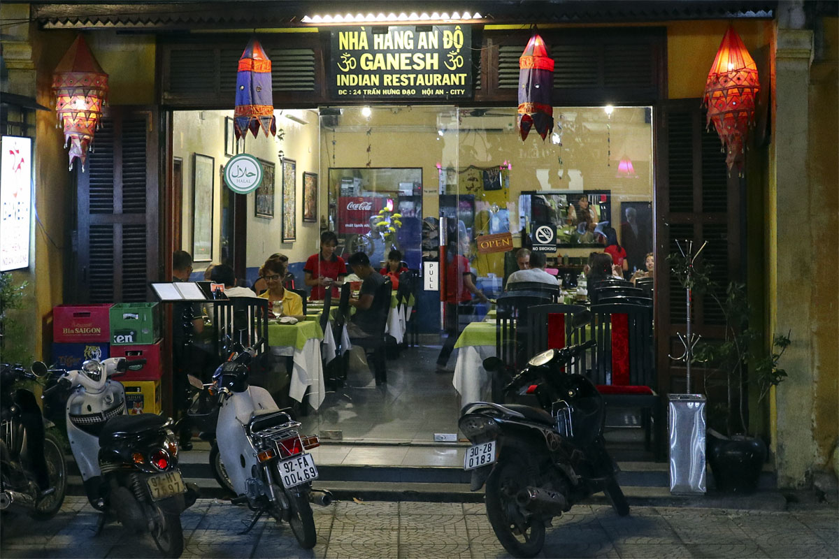 Ganesh Indian restaurant in Hoi An Ancient Town - YallaVietnam
